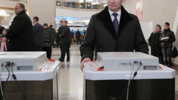 Putin says parliamentary poll is optimal for United Russia