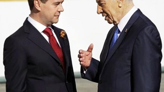Israeli diplomats' walkout wrecks Medvedev's visit