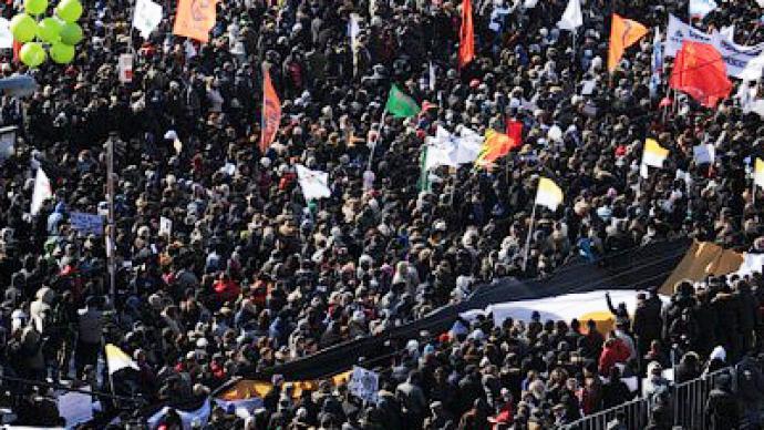 'No one afraid of protesters' - Putin's spokesman