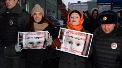 Russian Upper House unanimously passes ban on US adoptions as part of Dima Yakovlev bill