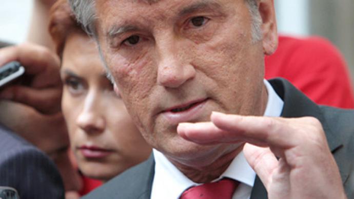 Yushchenko calls for Putin's testimony in Ukrainian gas case