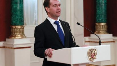 Medvedev signs up Spain in effort to modernize Russia