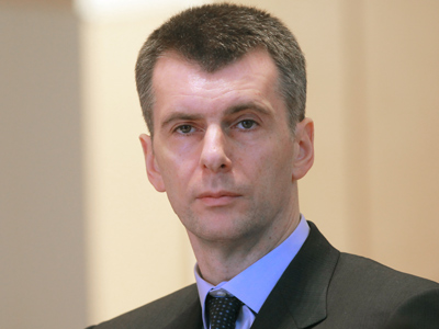 Ousted mayor to help tycoon Prokhorov win seat in Moscow Duma