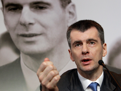 Prokhorov could be Putin 2.0 – Russian analysts