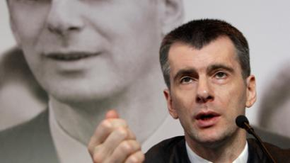 Prokhorov could join cabinet – Putin