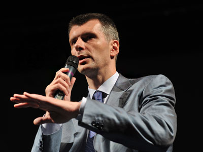 Prokhorov puts Khodorkovsky pardon on presidential agenda