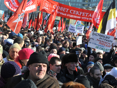 'March of Millions' loses leftist parties support