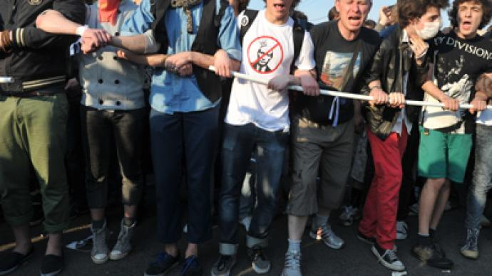 Protest to go ahead on Russia day 'regardless of permission'