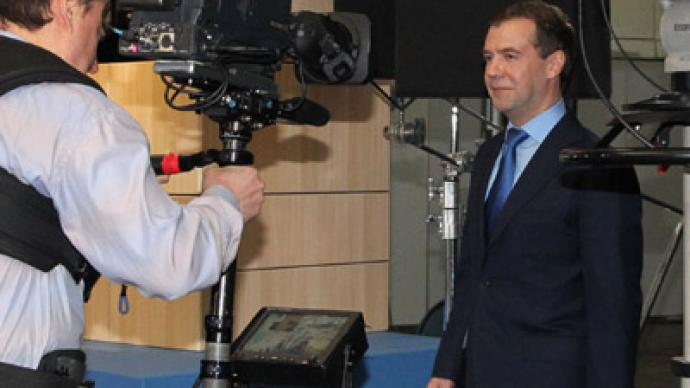 New public TV must be independent - Medvedev