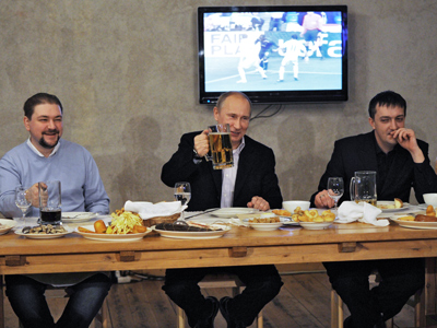 Putin trumpets Russia's 'cultural dominance'