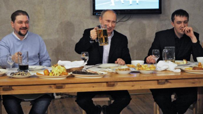 Putin bets on athletes and sports fans