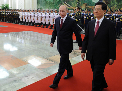 Russia and China tout strategic partnership amid global breakdown