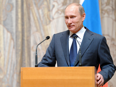 Putin's program: New worldview on offer in presidential bid