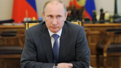 Putin: Russia doesn't supply arms to Syria that can be used in civil war