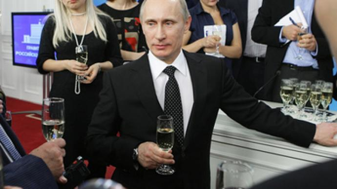 """""""You start talking about elections and everyone stops working"""" - Putin"""