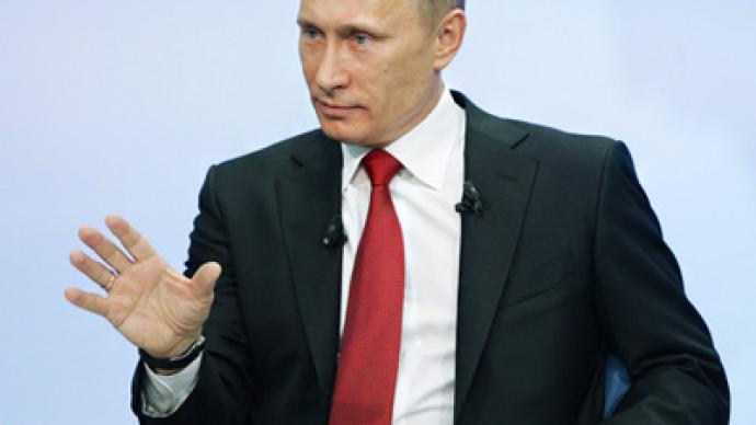 """A thief should sit in jail"" - Vladimir Putin"