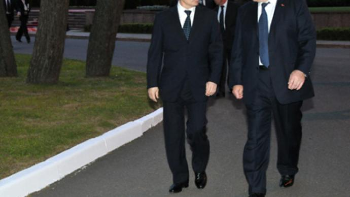 Putin's 1st foreign visit confirms Eurasian bloc ambitions
