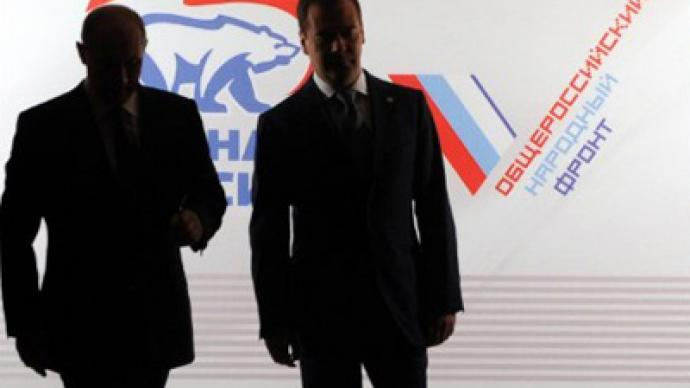 Putin puts Medvedev up to lead United Russia elections list