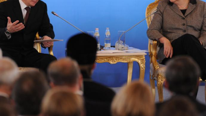 Putin denies chill in Moscow-Berlin ties