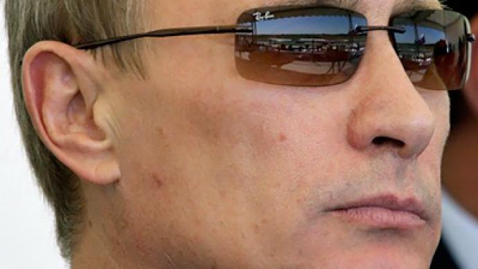 Putin plane-speaking in Paris