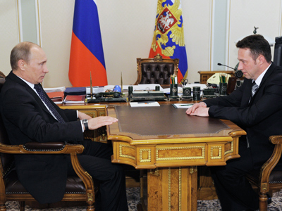 Tanks for your support: Putin offers rep. post to factory foreman