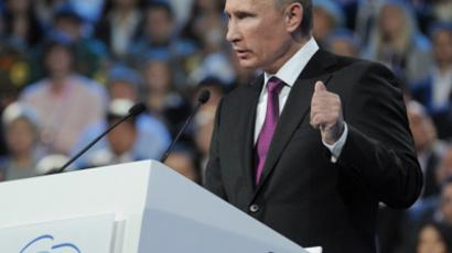 Putin agrees to run for president in tandem reshuffle