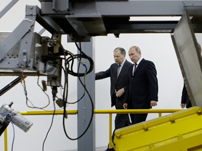 """Putin urges Russian scientists to launch new """"mega-projects"""""""