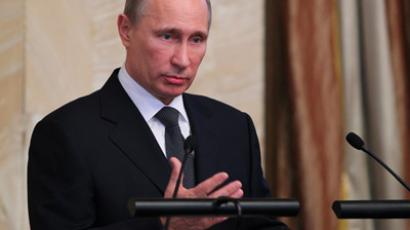 Russia's NGO checks 'legal and routine' – Putin