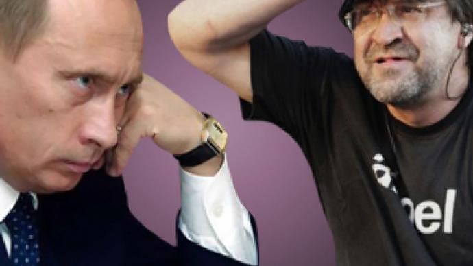 Rock star vs. Putin: man-to-man talk