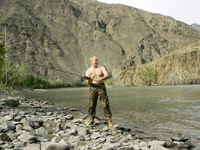 Putin talks about politically-correct hunting