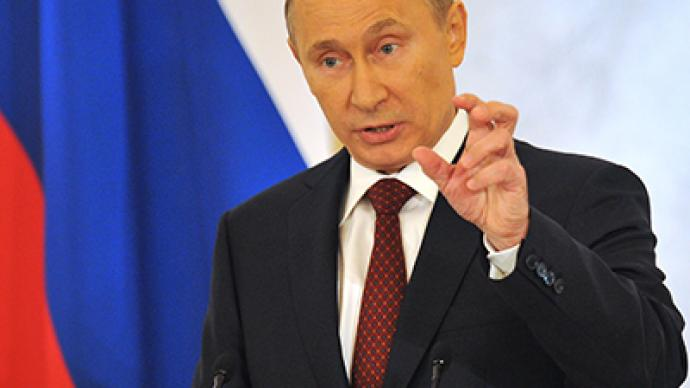 Putin vows crackdown on high-profile corruption and money laundering