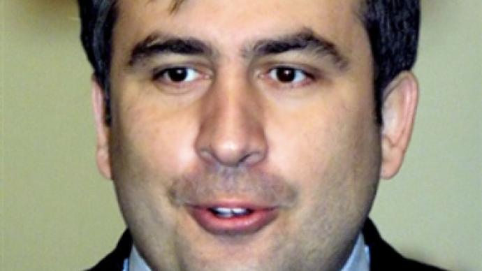 'Rabbit' Saakashvili gets carrots and cabbages