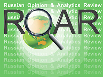 ROAR: Russian Opinion and Analytics Review, Apr.27