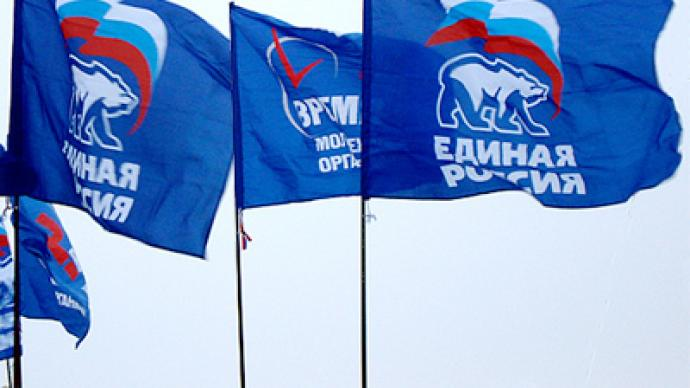 United Russia wins regional elections