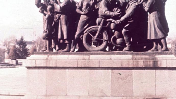Russia outraged by desecration of monument to Soviet soldiers in Bulgaria