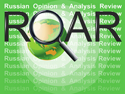 ROAR: Russian Opinion and Analytics Review, Apr.8