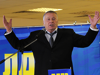 Russia not protecting Syria, but preventing attack on Iran – Zhirinovsky