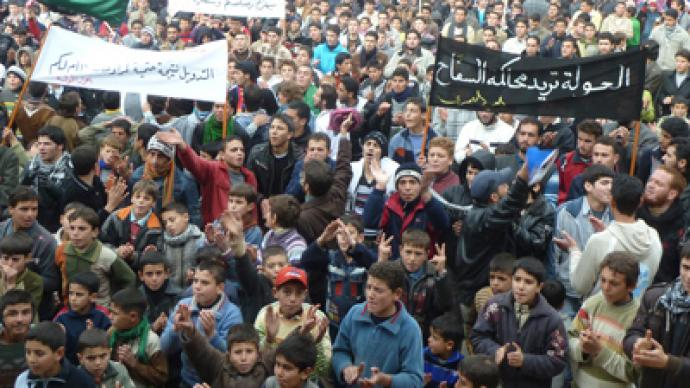 'West aiming to topple Syrian regime'