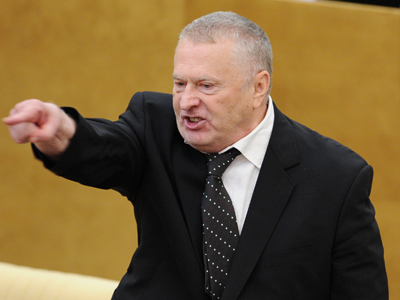 Russia must help Syria if US supports rebels - Zhirinovsky