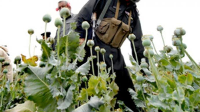 Russia urges stop to flow of Afghan opium