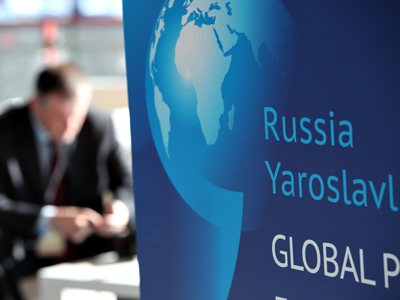 Russia provides podium for dissenting East-West views