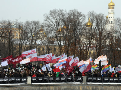 Green light for March of Millions - Moscow mayor's office