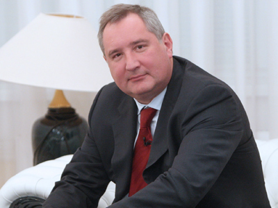 Russian Vice PM Rogozin trades in BMW for combat vehicle
