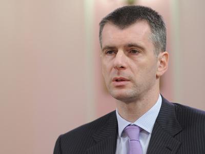 Prokhorov still considered oligarch, not politician