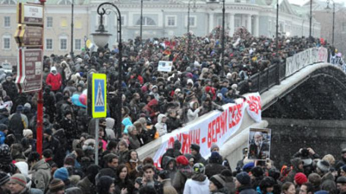 Most Russians not inclined to join protests
