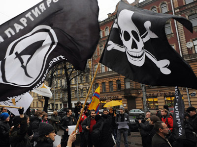 Skeleton Crew: Russia's Pirate Party admits first rally fail