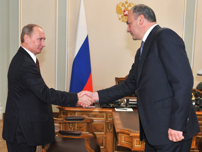 Putin replaces head of South Russian republic of Dagestan