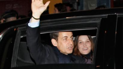 Sarkozy and Hollande clash in heated election debate