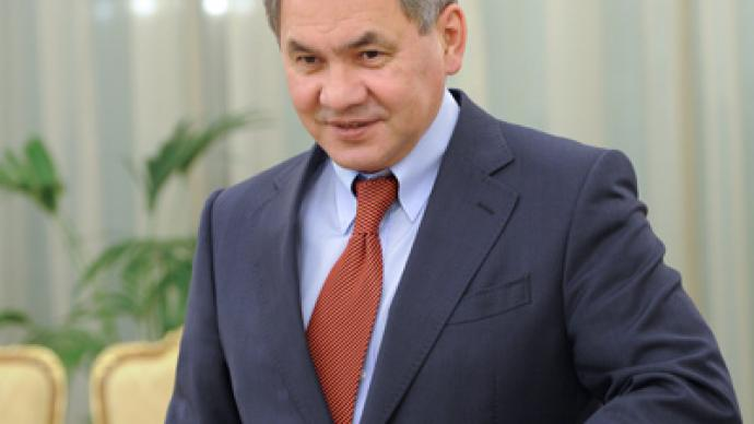 Medvedev proposes Emergencies Minister Shoigu as Moscow Region governor