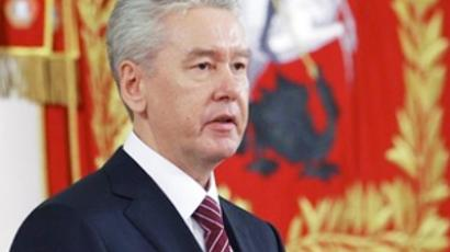 Moscow safer than Paris, mayor Sobyanin claims
